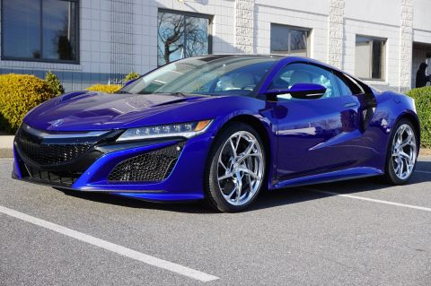 2017 Acura NSX Base (DCT) Coupe