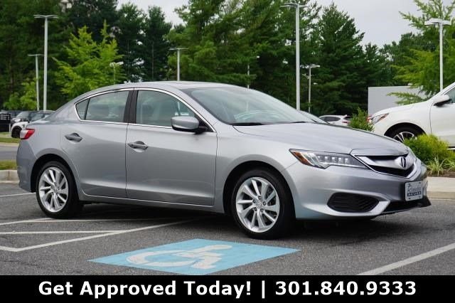 Acura Sedan 2017 >> Certified Pre Owned 2017 Acura Ilx Base