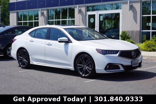 Certified Pre-Owned 2019 Acura TLX 2.4 8-DCT P-AWS with A-SPEC