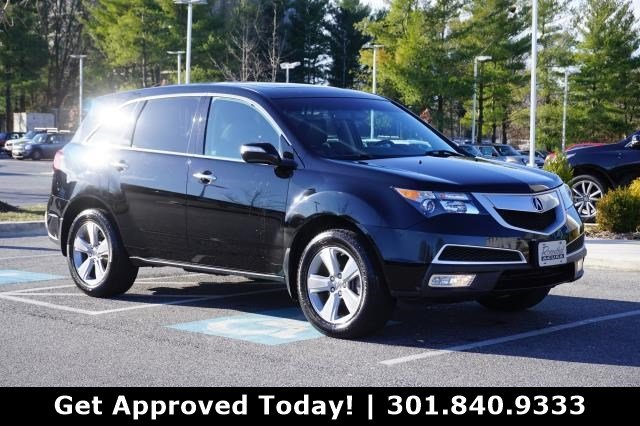 Pre-Owned 2012 Acura MDX Technology Package