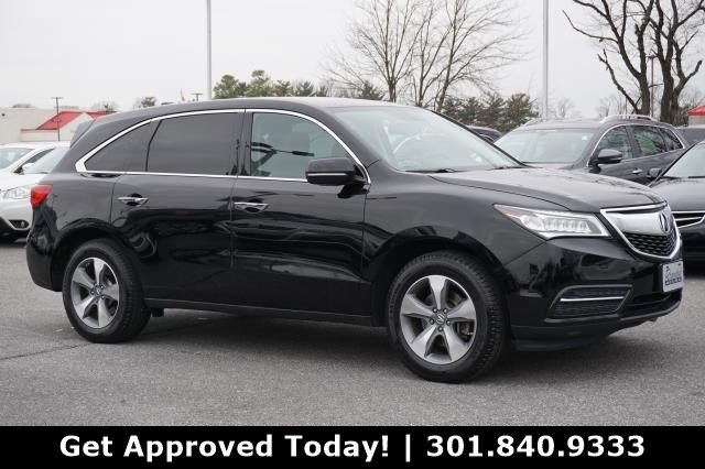Pre-Owned 2014 Acura MDX 4DR AWD