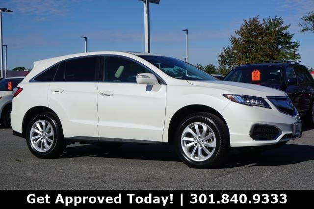 Certified Pre Owned 2017 Acura Rdx Awd With Acurawatch Plus