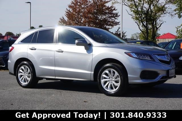 Certified Pre Owned 2017 Acura Rdx Awd With Technology Package