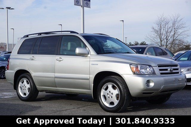 PreOwned Toyota Highlander Limited SUV In Gaithersburg - 2004 highlander