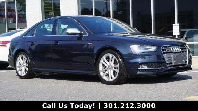 Pre Owned 2013 Audi S4 Prestige Sedan In Gaithersburg Dx6359b