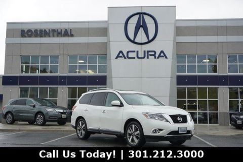 Pre-Owned 2015 Nissan Pathfinder Platinum With Navigation & 4WD