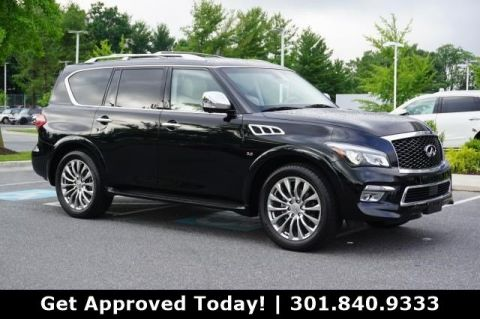 Pre-Owned 2015 INFINITI QX80 4DR 4WD