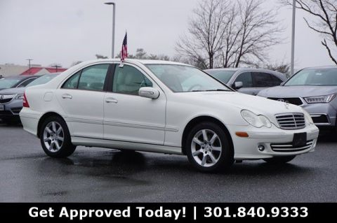 Pre-Owned 2007 Mercedes-Benz C-Class 3.0L Luxury AWD